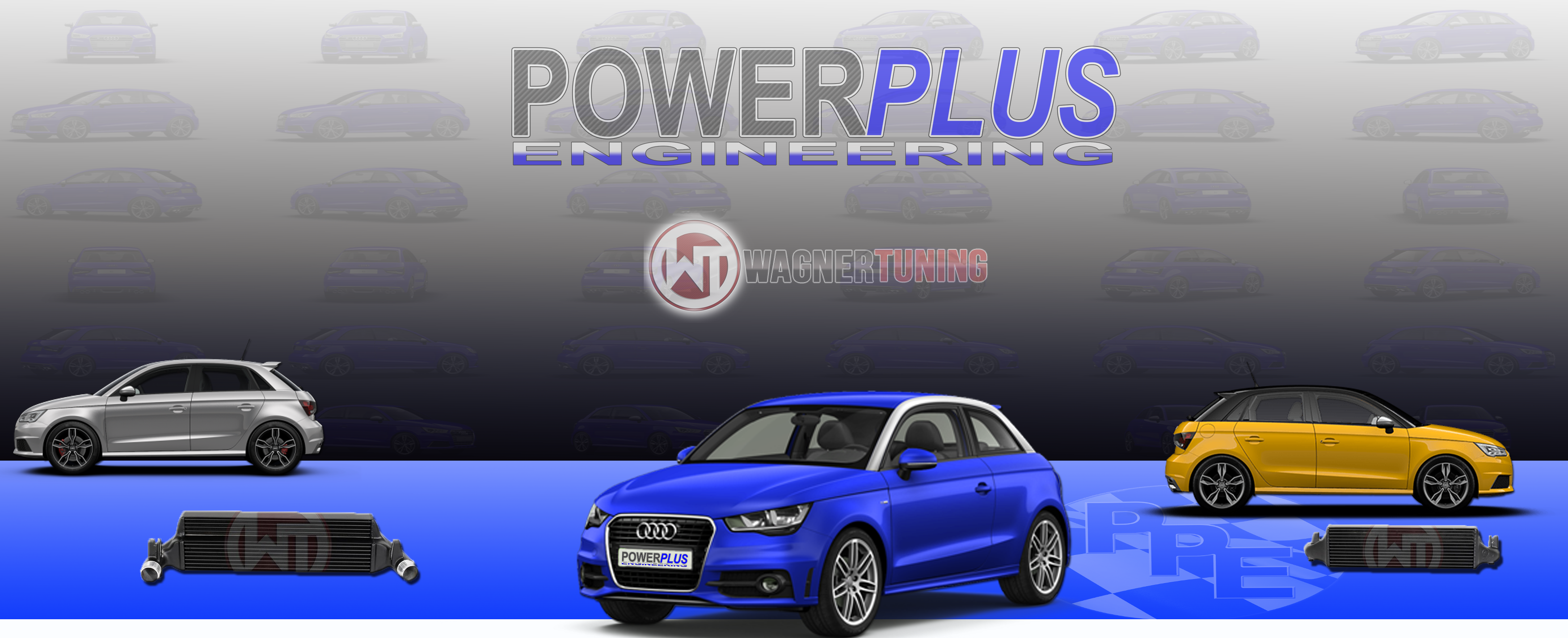 Wagner Tuning Competition Intercooler Kit For Audi S Power Plus - Wagner audi