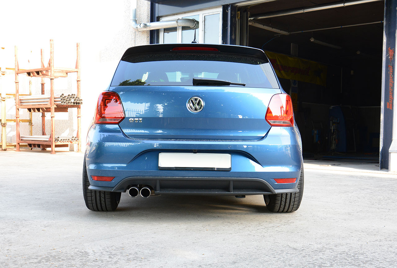 Cat Back Exhaust >> High performance sport exhaust Supersprint for VW Polo GTI ...