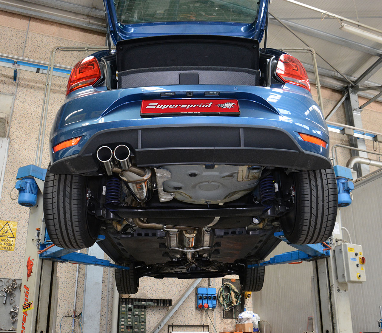 High Performance Sport Exhaust Supersprint For Vw Polo Gti
