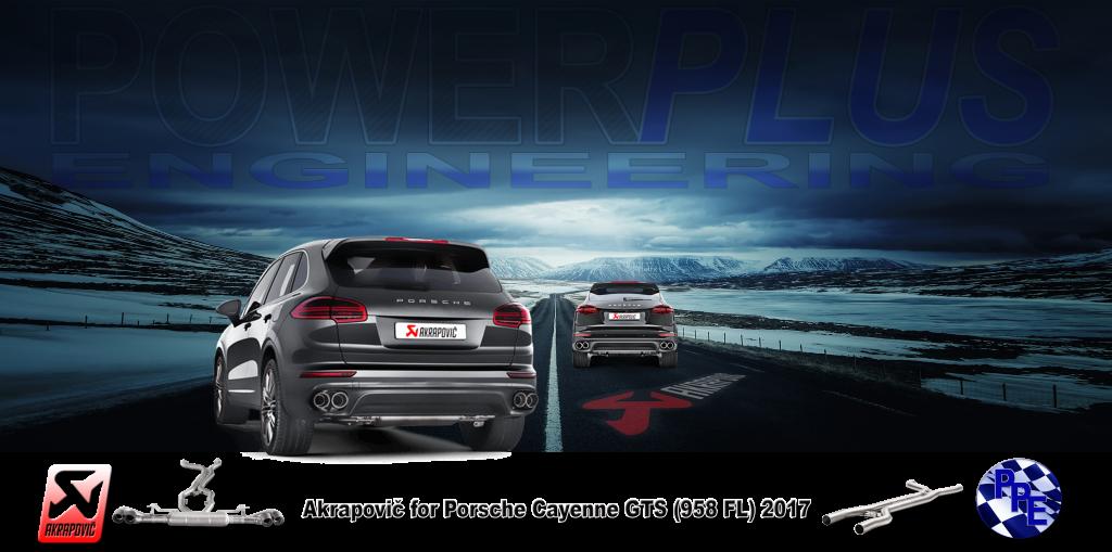 Pub Akra Akrapovič for Porsche Cayenne