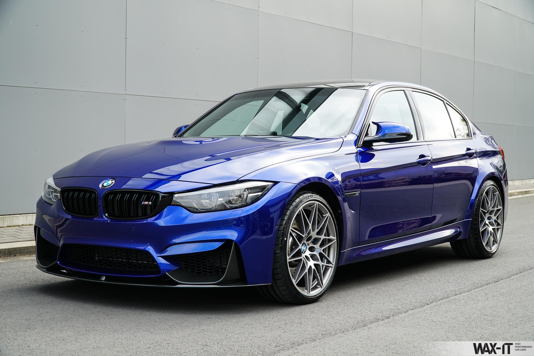Bmw F80 M3 Individual San Marino Blau Metallic Power