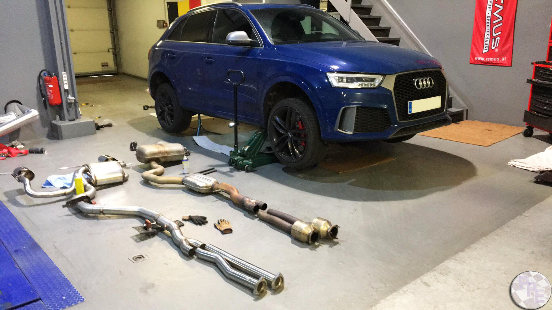 Supersprint Exhaust On Audi Rsq3 Power Plus Engineering