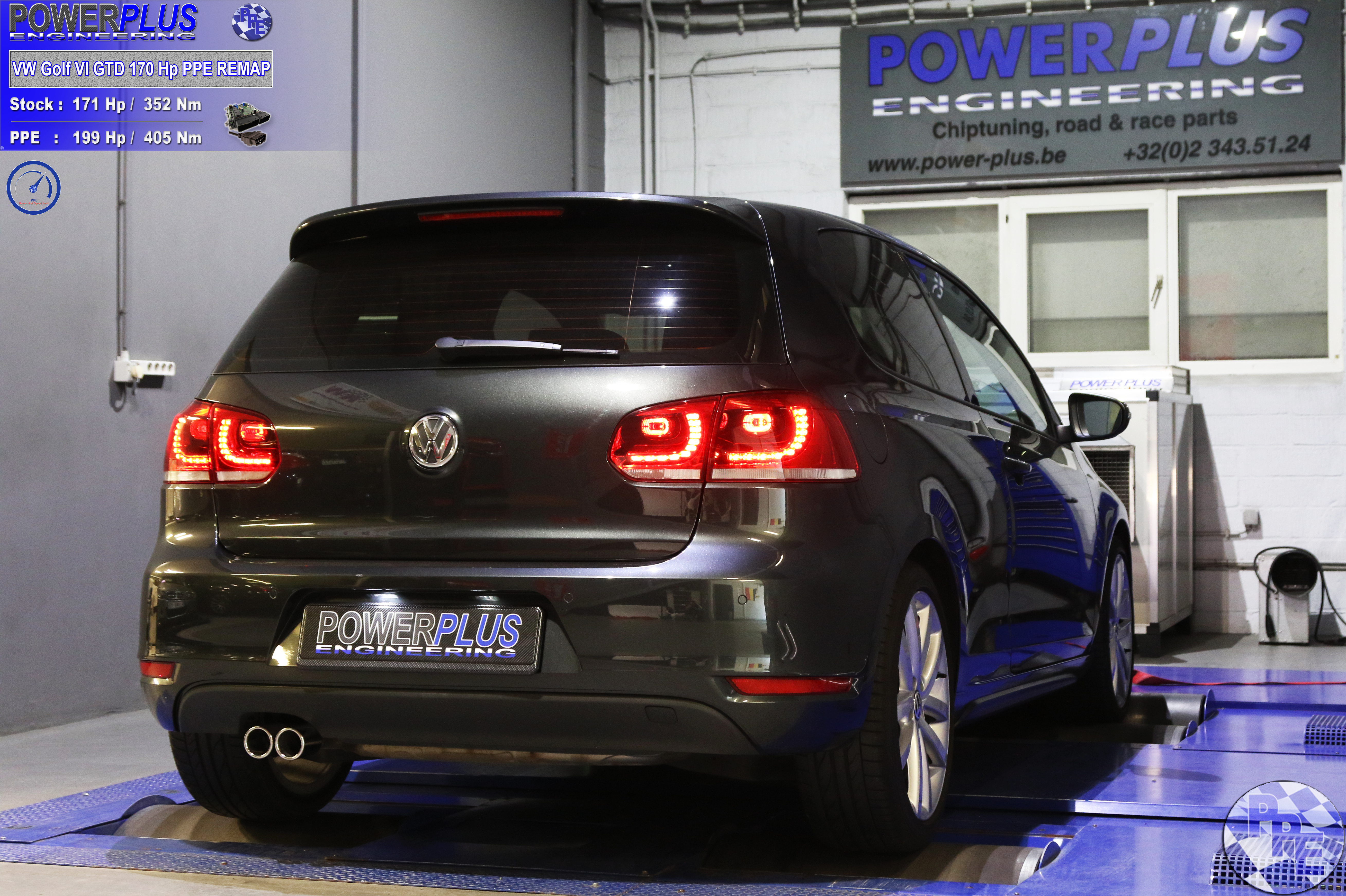 VW GOLF VI GTD 170 Hp | Power Plus Engineering