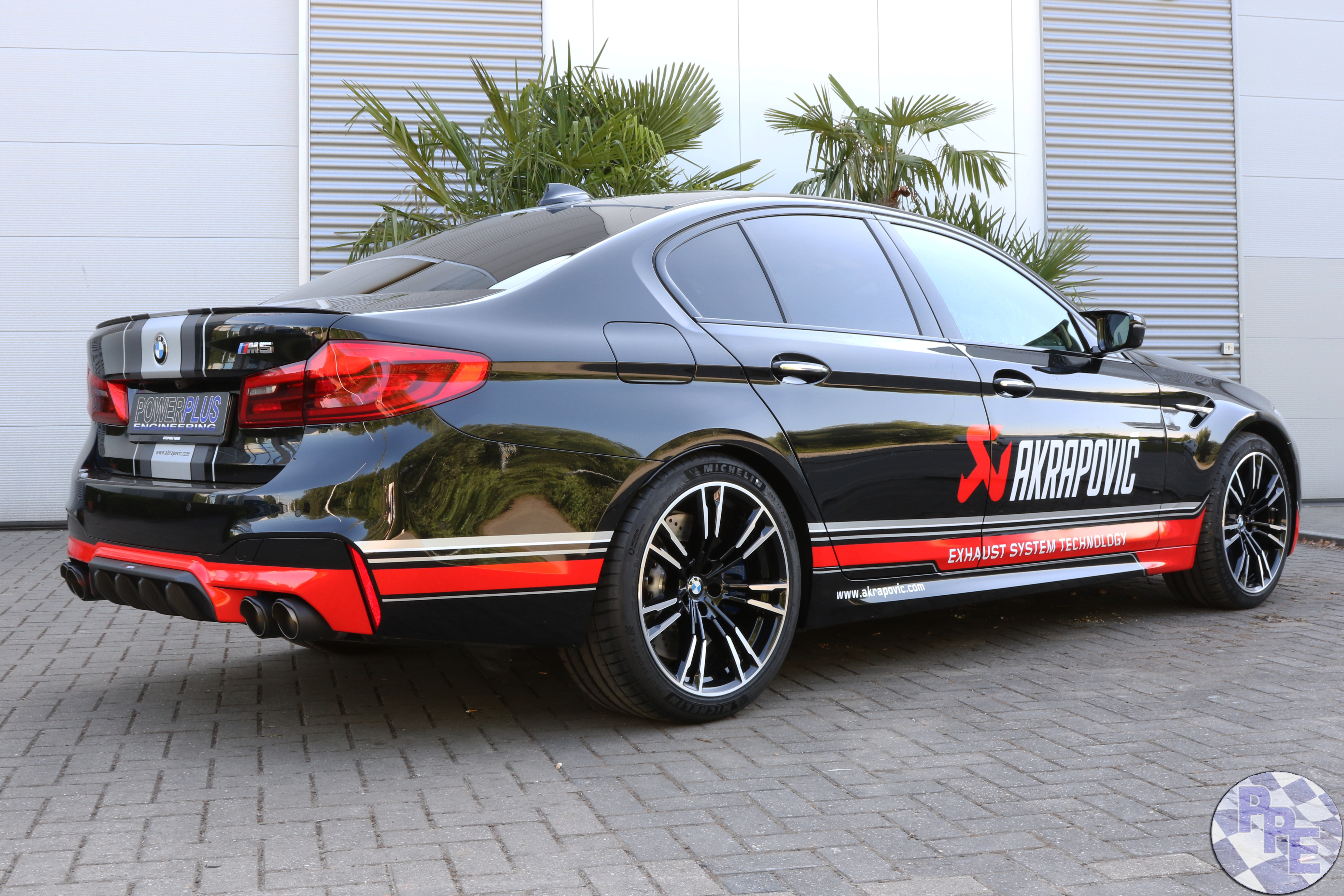 BMW ///M5 F90 equipped with the first Akrapovic Exhaust System at